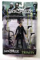 Trinity Long Coat Variant Ser 1 Act Fig New 1999 Matrix Movie N2 Toys Amricons