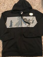 Nintendo Legend of Zelda Zip Up Hoodie Men's Sz Large Color Black NWOT