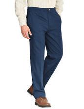 Pantaloni da donna blu cotone , Taglia 48