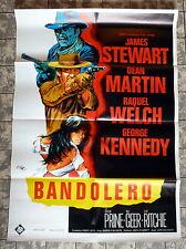 BANDOLERO * James Stewart, Raquel Welch / DILL - A1-Filmposter-Ger 1-Sheet 1968