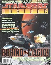 Star Wars Insider Issue #40 Behind the Magic Secrets Early Days of Video Games