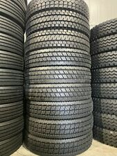 9 Tires 11r245 Lot Of Mixed Drive Tires New Road Crew Drive Tires 16 Ply