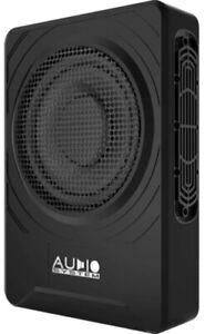 AudioSystem US08 Active 20 cm Untersitz AluSubwoofer Aktiv Flach 200 WRMS 2 OHM