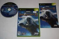 Baldur's Gate Dark Alliance II Microsoft Xbox Video Game Complete