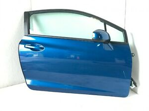 ✅ 13 14 15 Honda Civic Coupe Blue Front Right Door Assembly OEM Good