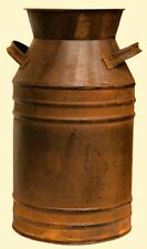 New Primitive Country Farmhouse RUSTY MILK CAN Bucket Rusty Metal Decor