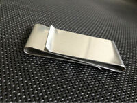NEW Stainless Steel Smart Money Clip Wallet Credit Card ID Pocket Cash Holder