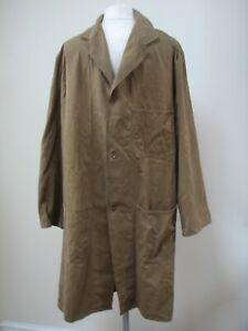 "Vintage Workwear original overall coat jacket "" open all hours """