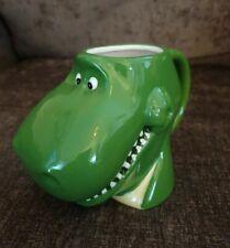 Toy Story Rex en forma 3D Children's Taza Taza Verde Dino Disney Pixar Dinosaur