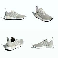 Adidas NMD R1 Boost Grey / Sesame / Chalk Pearl Size 10 US NIB B76079