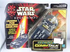 STAR WARS - COMM TALK - HASBRO - NEW -  THE PHANTOM MENACE - EPISODE 1 - 1999