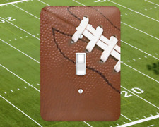 Football Lovers Fantasy Touchdown Metal Switch Light Covers, rockers outlet