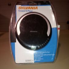 New Sylvania Personal Cd Player With Stereo Earbuds Programmable Lcd Display !