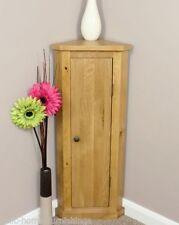 Oak Bathroom Corner Cabinets