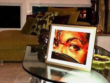 "Michael Jackson Print Art - ""Those Eyes!"" - Collector's Item -Exclusive Portrait"