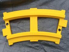 4 Peg Perego Curve Track for Santa Fe Thomas Ride-on Train Yellow Expansion