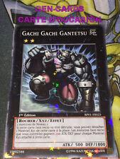 OCCASION Carte Yu Gi Oh GACHI GACHI GANTETSU BP01-FR025 STARFOIL RARE 1ère éd.