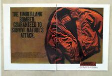 E767- Advertising Pubblicità -1995- TIMBERLAND BOMBER