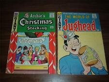 Archie Giant Series    6, 9, 15, 18, 19, 20, 21, 23---lot of 8 comic books.