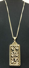 ELEGANT GOLD NECKLACE STUNNING UNIQUE ONE OF A KIND PIECE BRAND NEW (ST19)