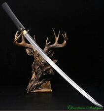 Iaido Sword Japanese Samurai Sword Katana High Manganese Steel Blade Sharp #5451