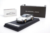 #IG0942 - Ignition Model Porsche 911 Turbo (930) - Silber - BBS Felgen - 1:43