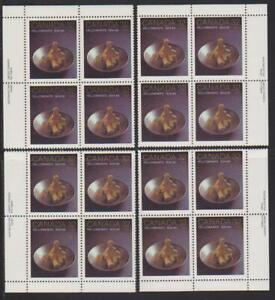 1984 Canada SC# 1009 - Yellowknife - Set of 4 Plate Blocks M-NH Lot # 1683