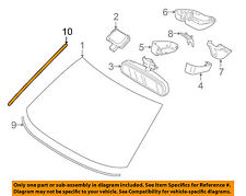 Volvo Oem 07-16 S80 Windshield-Side Molding Left 31214492 (Fits: Volvo)