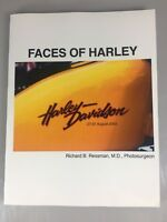 Faces of Harley Davidson Softcover Book Richard Ressman 100th Anniversary 2003