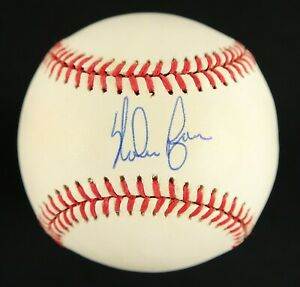 HOFer Nolan Ryan AUTOGRAPHED Rawlings Baseball