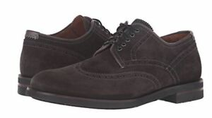 Aquatalia Carson Waterproof Lace-up Suede Wingtip Oxford Shoes Sz 10 NEW $450