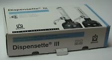 Dispensette III, Brand Tech Sceintific Inc.,4701141, 1-10mL, Bottle Top Dispeser