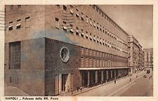 353 NAPOLI ARCHITETTURA FASCISTA PALAZZO DELLE REGIE POSTE ANIMATA VG  25/9/1938