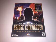 Star Trek Bridge Commander PC CD ROM VERY RARE BIG BOX BRAND NEW FACTORY SEALED