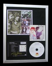 TONY VISCONTI+DAVID BOWIE+SIGNED+FRAMED+MONSTERS=100% GENUINE+FAST+GLOBAL SHIP