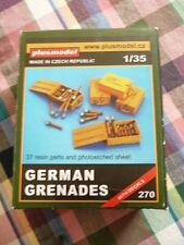 maquette plus model lot of german grenades 1/35 eme