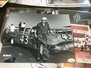 RICHARD PETTY Signed 8x10 JSA COA SILVER INK Autograph auto James Spence old car