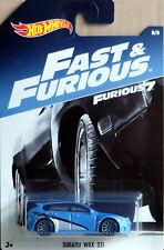 Subaru WRX STI Fast & Furious 8/8 1:64 Hot Wheels DWF72 DWF68