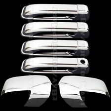 FOR DODGE RAM 1500/2500/3500 09 10 11 12 CHROME MIRROR 4 DOOR HANDLE COVERS