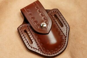 Custom Leather Sheath for Buck 110 Knife