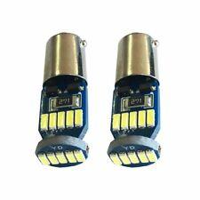 2 x 15 LED White BAX9S H6W 12V Sidelight Indicator Reverse Light Lamp Bulb /2326