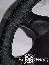 VOLANTE in Pelle Perforata Copertura Per Volvo VNL 780 CAMION Verde Doppio plexiglass