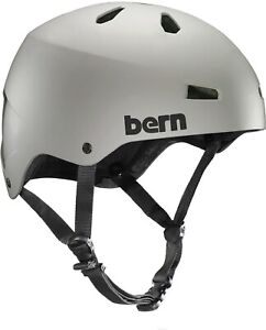 Bern Macon Fahrradhelm BMX Skate Helm matte Sand, Beige