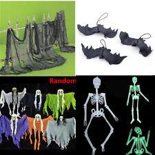 Halloween Creepy Skull Cloth Door House Decor Gothic Props Party Decorations