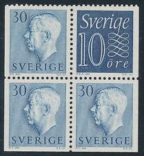 Sweden Scott 514v/Facit 416, 10+30ö blue numeral + Gustav VI Adolf, F-VF Mint LH