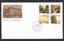 Canada   # 849 - 852 Block a    ACADEMY OF ARTS   New 1980 Unaddressed