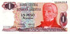 Argentine - Argentina billet neuf de 1 peso argentino pick 311a signature 1 UNC