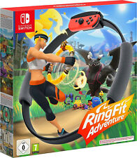 Nintendo Switch Ring Fit Adventure Incl. Game +Leg Strap + Ring-Con Nip