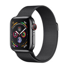 SEALED Apple Watch Series 4 44 mm Space Black Stainless Steel Case MILANESE LOOP