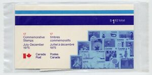 Weeda Canada 1975 July-December Semi-Annual Pack, sealed! Face value $1.62